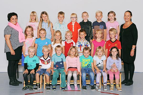 Skolefoto - Klassebillede